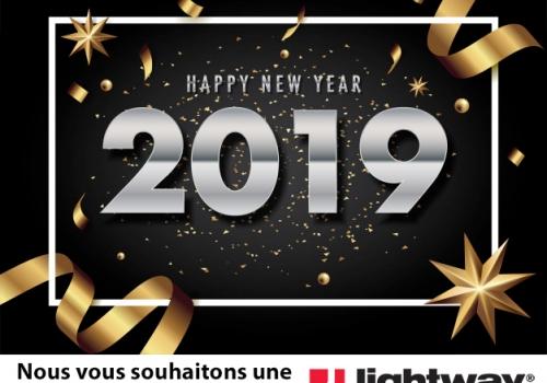 Puit de lumière Lightway - voeux 2019
